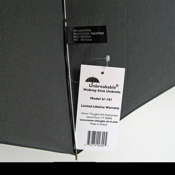 NTOI® Unbreakable® Walking-Stick Umbrella Premium U-101
