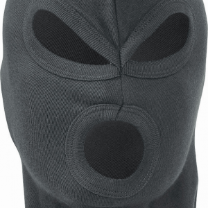 Lightweight 3 Hole Balaclava Black