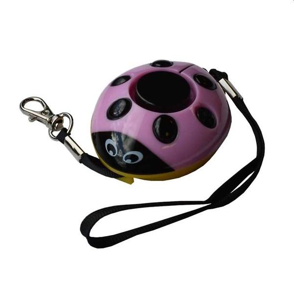 Ladybug Rape Attack Alarm Pink