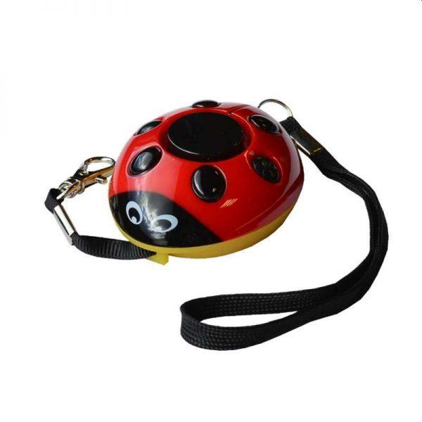 Ladybug Rape Attack Alarm Red