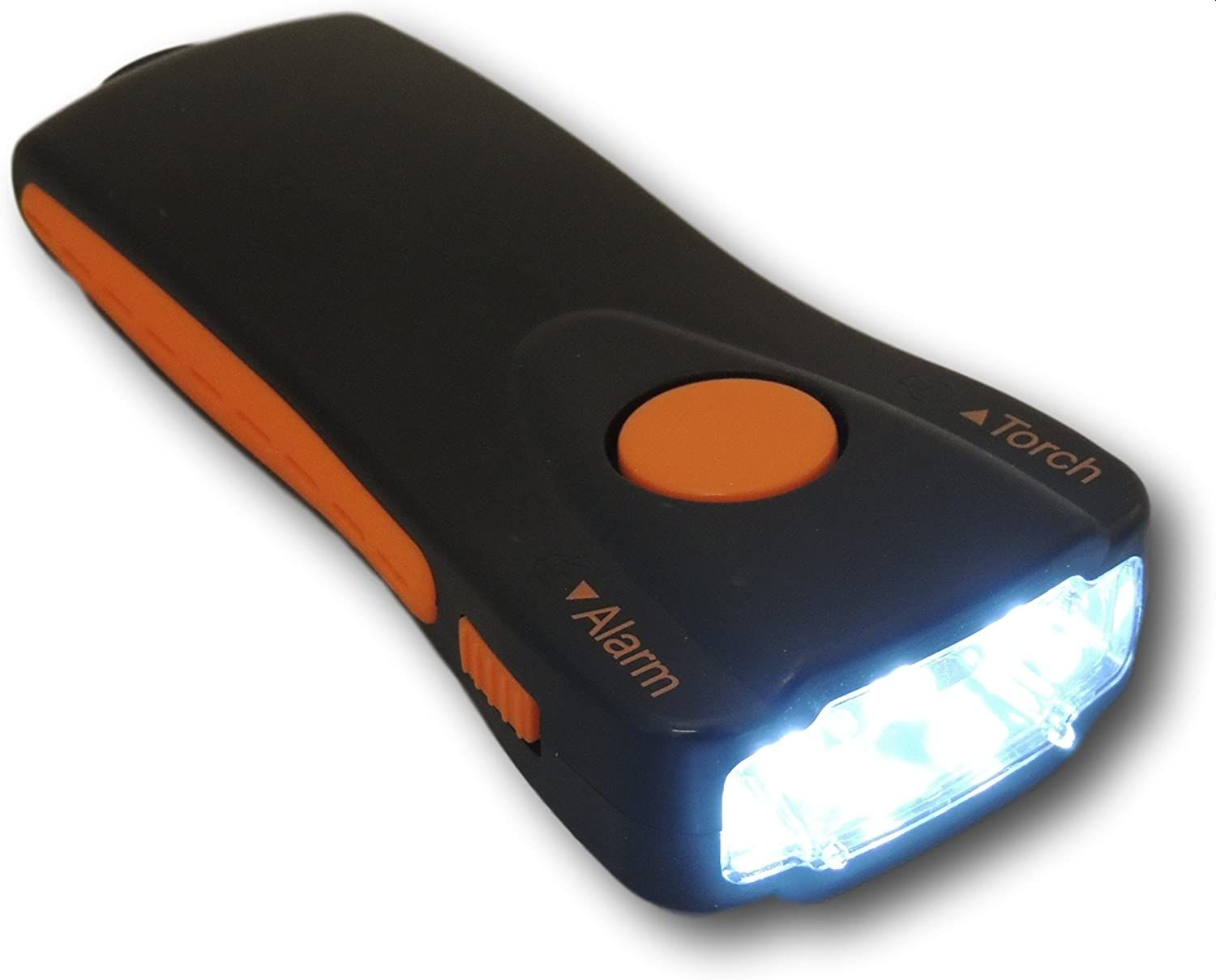 Minder Walk Safe Torch Flashlight and Personal Attack Alarm