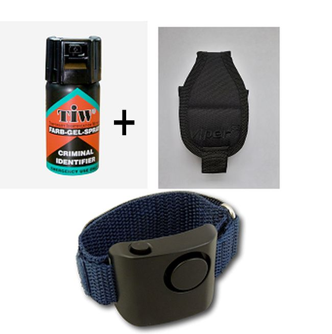 Farb-Gel Pouch and Alarm