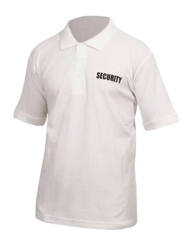 Security Polo Shirt White