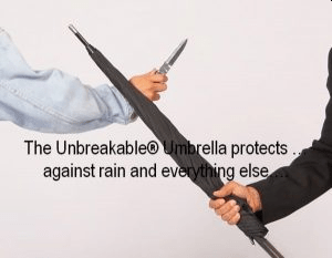 NTOI Unbreakable Umbrellas