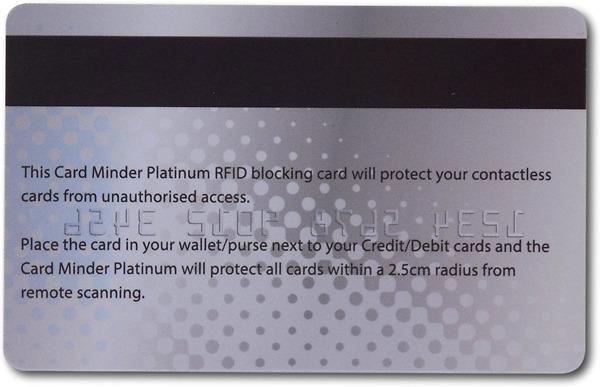 Card Minder Platinum 2