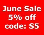 June Sale 5%